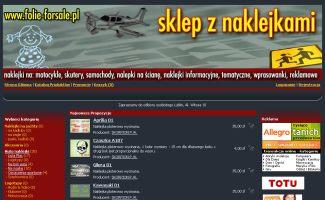 Sklep Folie-forsale.pl