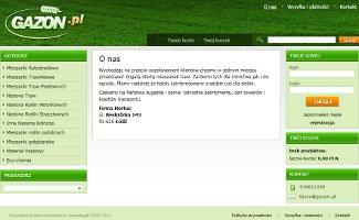 Sklep Gazon.pl