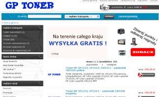 Sklep Gptoner.pl