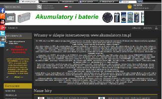 Sklep Akumulatory.tm.pl