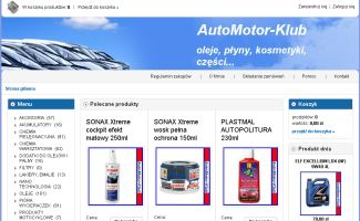Sklep AutoMotor-Klub