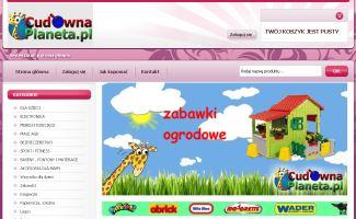 Sklep CudownaPlaneta.pl