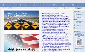 Sklep Czesci-usa.com.pl