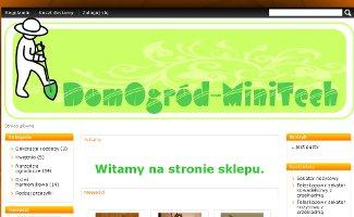 Sklep DomOgrod-MiniTech.pl
