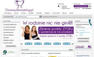 Sklep DomowyStomatolog.pl