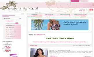 Sklep e-bielizniarka.pl