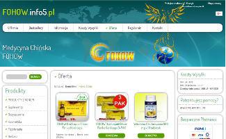 Sklep fohow.info5.pl
