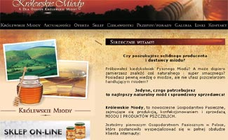 Sklep Krolewskie-miody.pl