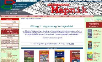 Sklep Księgarnia Mapnik