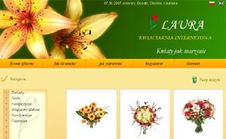 Sklep KwiatyLaura.pl