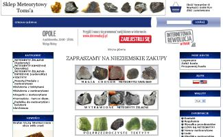 Sklep Meteoryty.sklepna5.pl