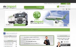 Sklep M import