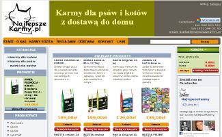 Sklep NajlepszeKarmy.pl