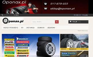 Sklep Oponax.pl