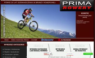 Sklep Prima Rowery