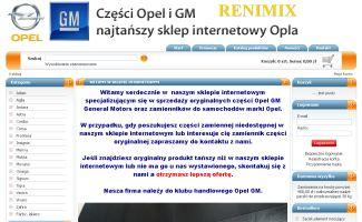 Sklep Opel gm renimix