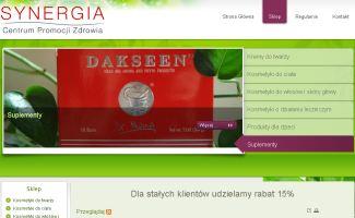Sklep Synergiacpz.pl