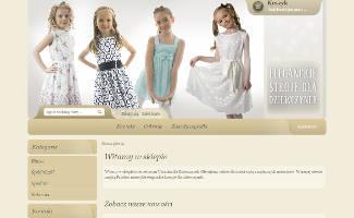 Sklep ubranka-dla-dziewczynek.pl