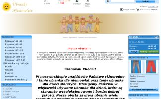 Sklep Ubrankaniemowlece.com.pl